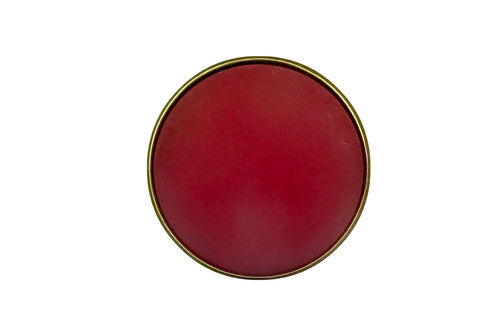 Antik Bronze Perle Polaris Rot 20mm